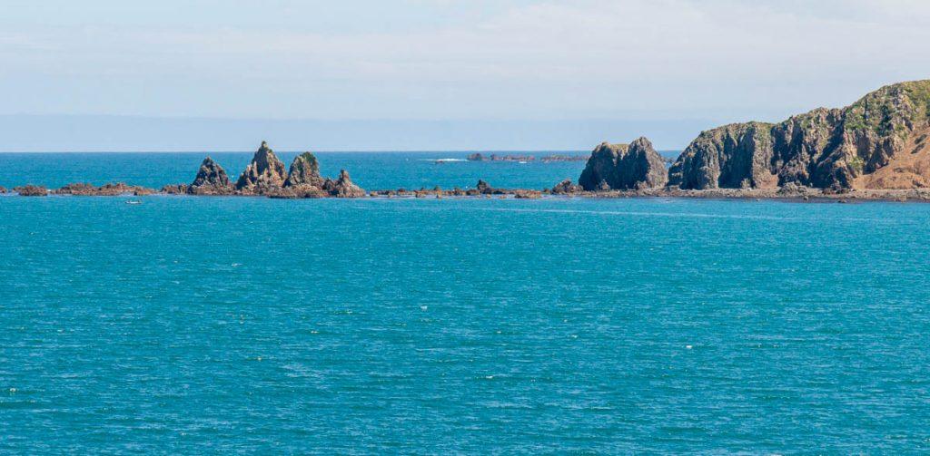 Rotsen,InterIslander , Wellington, Wellington, Nieuw Zeeland (2011)