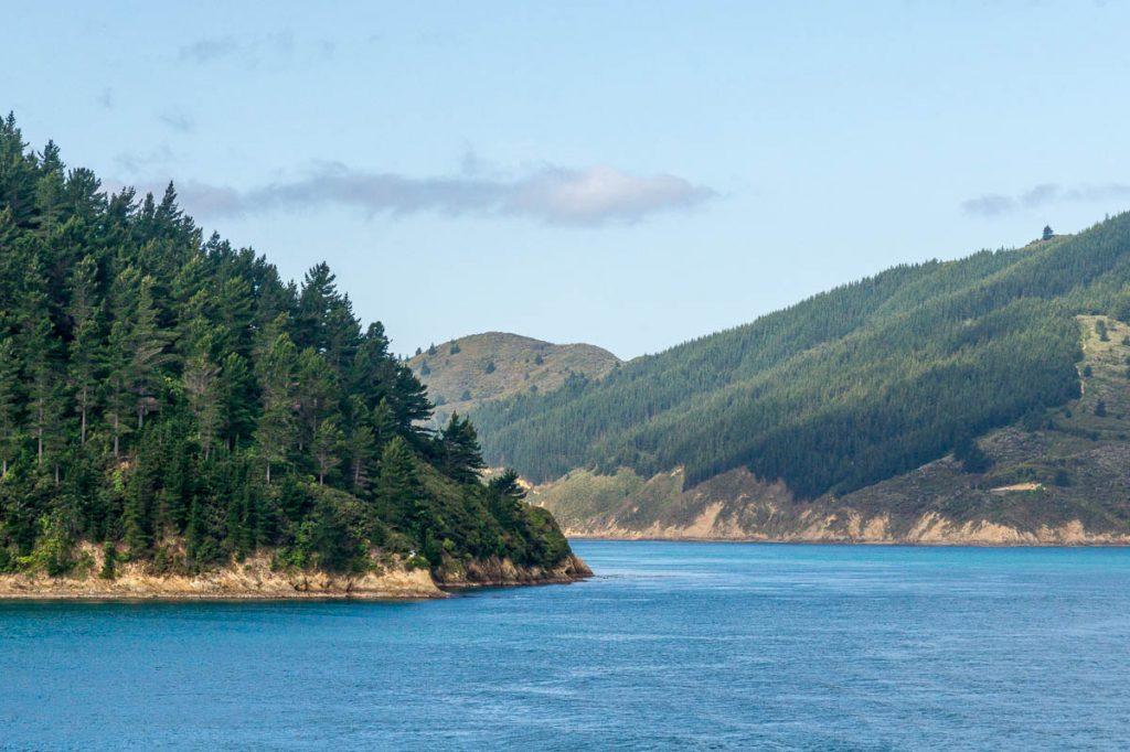 Het Zuidereiland!!,Tory Channel, Marlborough, Nieuw Zeeland (2011)