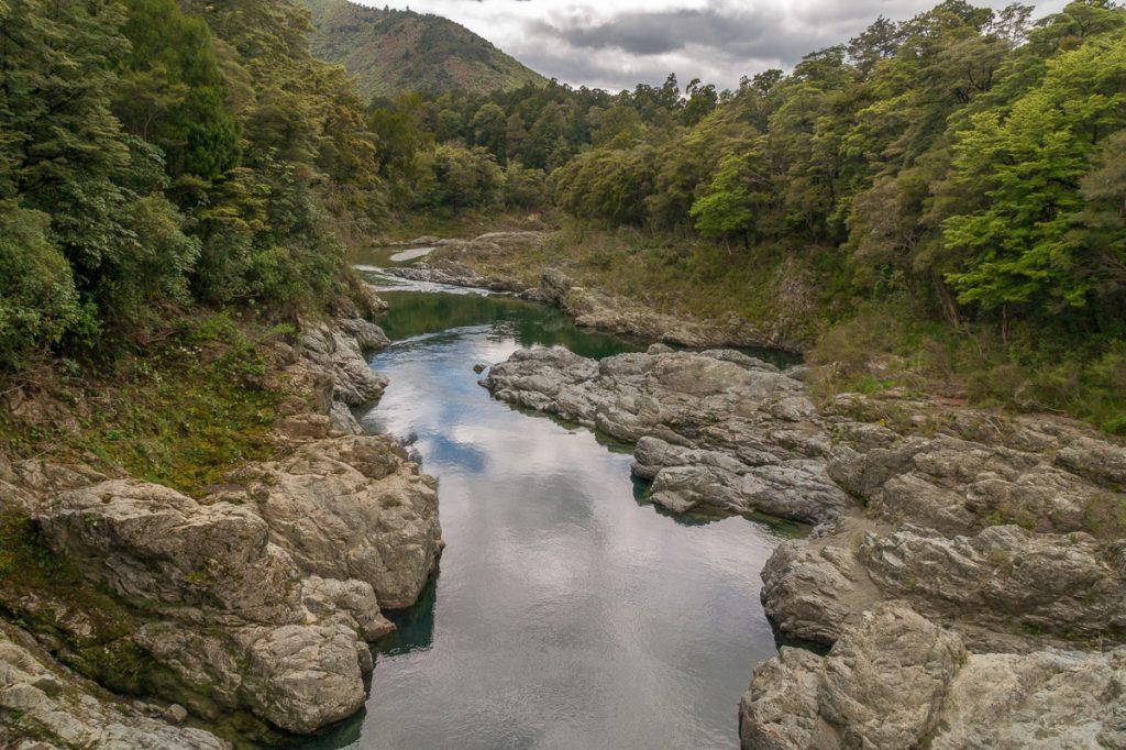 Pelorus Rivier,Pelorus Bridge, Marlborough, Nieuw Zeeland (2011)