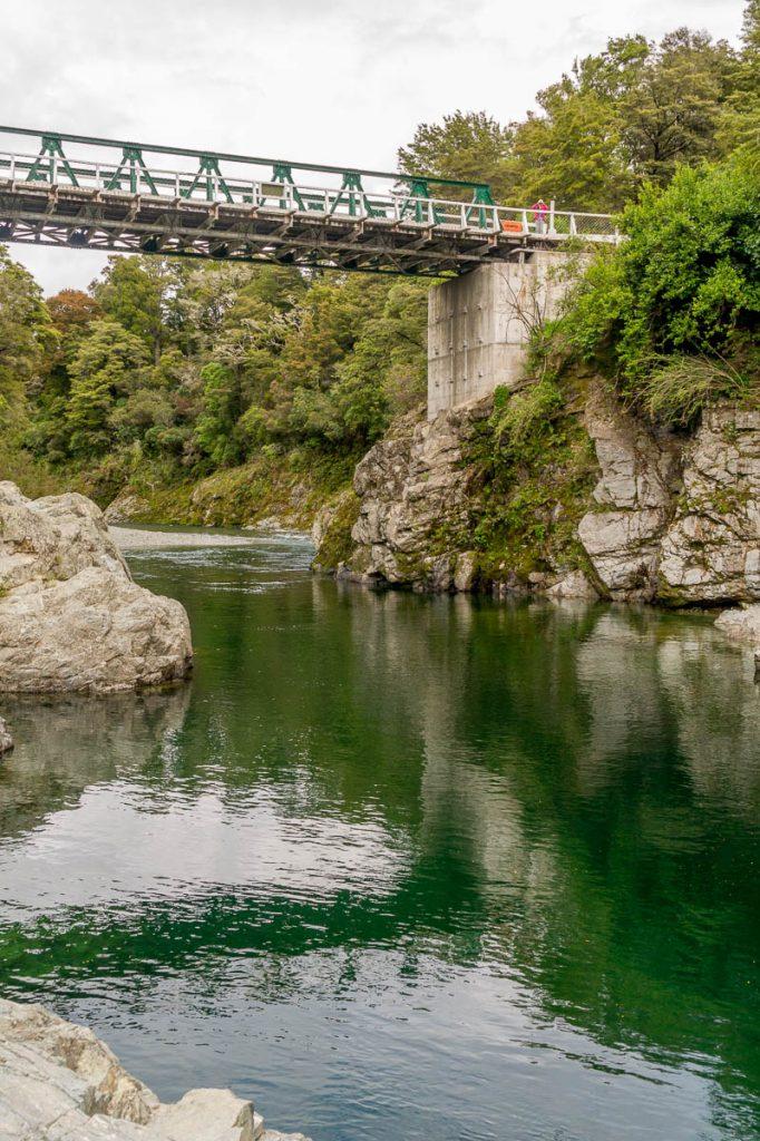 Pelorus Bridge,Pelorus Bridge, Marlborough, Nieuw Zeeland (2011)