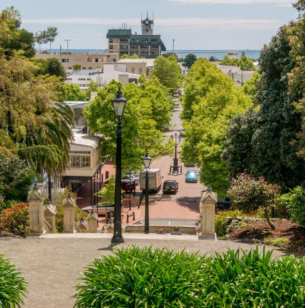 Uitzicht,Church Hill, Nelson, Nelson, Nieuw Zeeland (2011)