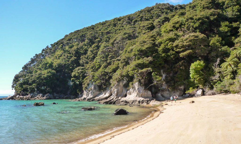 Tonga Bay Beach,Tonga Bay, Abel Tasman National Park, Nelson, Nieuw Zeeland (2011)