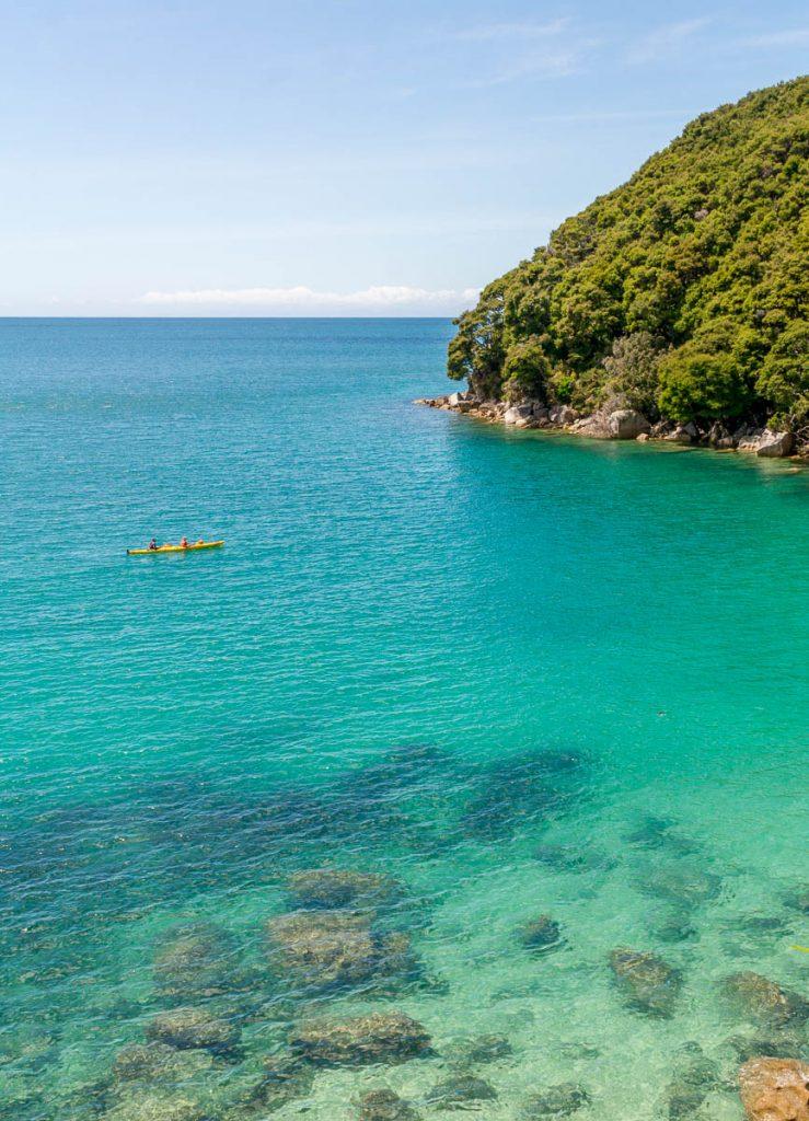 Bark Bay,Bark Bay, Abel Tasman National Park, Nelson, Nieuw Zeeland (2011)