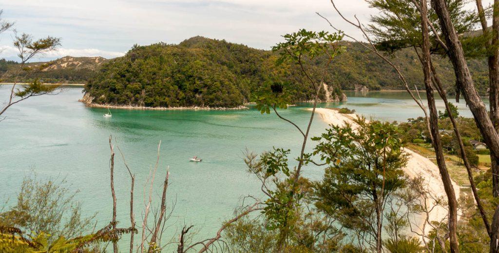 Torrent Bay,Abel Tasman Coastal Track, Abel Tasman National Park, Nelson, Nieuw Zeeland (2011)