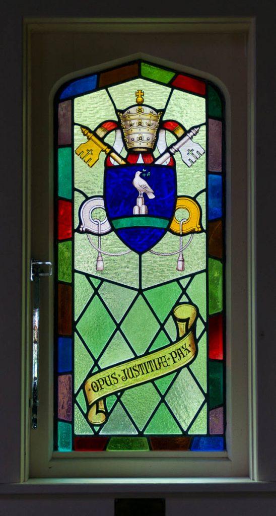 Our Lady of the Alps Katholieke kerk,Our Lady of the Alps Catholic Church, Franz Josef Glacier, West Coast, Nieuw Zeeland (2011)