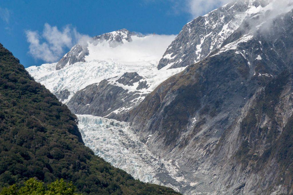 Franz Josef Gletsjer,Franz Josef Glacier, West Coast, Nieuw Zeeland (2011)