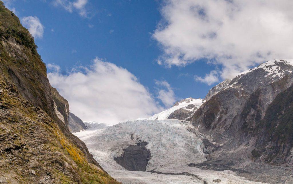 Franz Josef Gletsjer,Roberts Point Track, Westland National Park, West Coast, Nieuw Zeeland (2011)