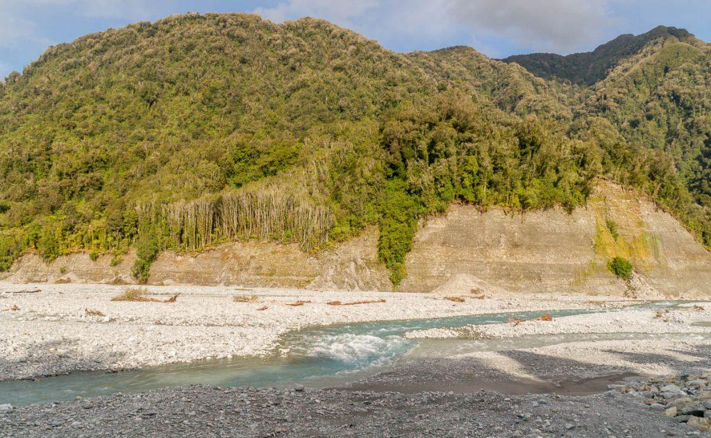 Smeltwater,Roberts Point Track, Westland National Park, West Coast, Nieuw Zeeland (2011)
