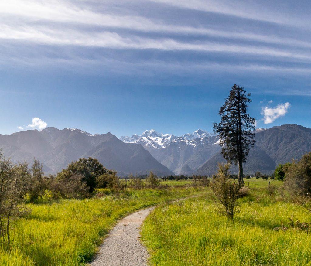 Wat een uitzicht!,Lake Matheson, Westland National Park, West Coast, Nieuw Zeeland (2011)