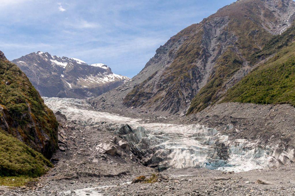 Fox Gletsjer,Fox Glacier, Westland National Park, West Coast, Nieuw Zeeland (2011)