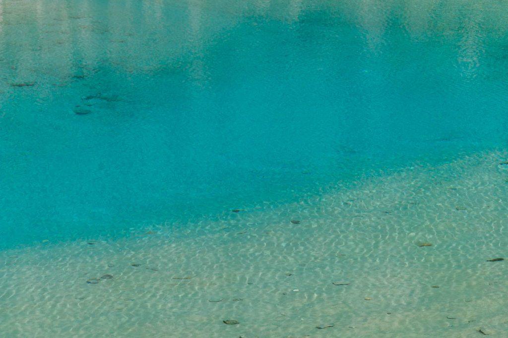 Helder blauw,Fox Glacier, Westland National Park, West Coast, Nieuw Zeeland (2011)