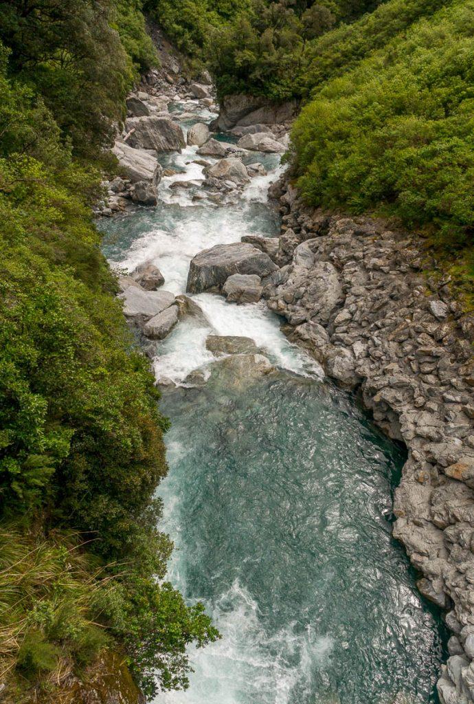 Haast Rivier,Mt. Aspiring National Park, West Coast, Nieuw Zeeland (2011)