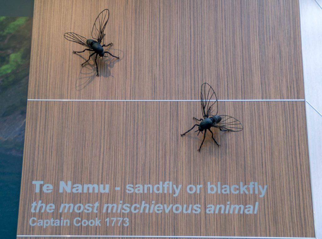 Ik ben ook niet zo te spreken over ze...,Milford Sound, Fiordland National Park, Southland, Nieuw Zeeland (2011)