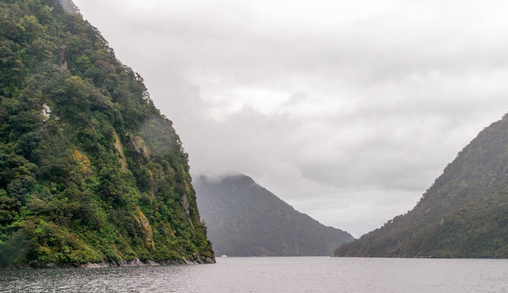 Fjord,Milford Sound, Fiordland National Park, Southland, Nieuw Zeeland (2011)