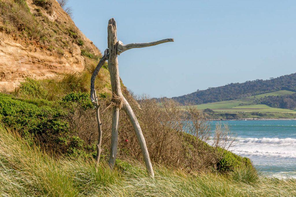 Die kant op!,Te Waewae Bay, Orepuki, Southland, Nieuw Zeeland (2011)