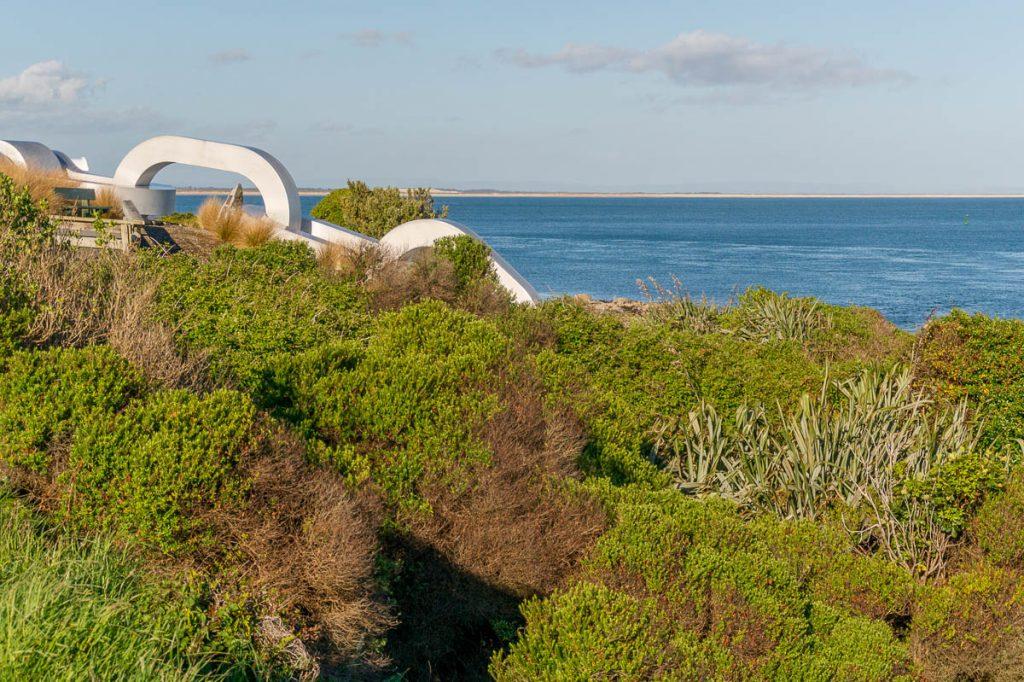 Aan de ketting,Stirling Point, Bluff, Southland, Nieuw Zeeland (2011)