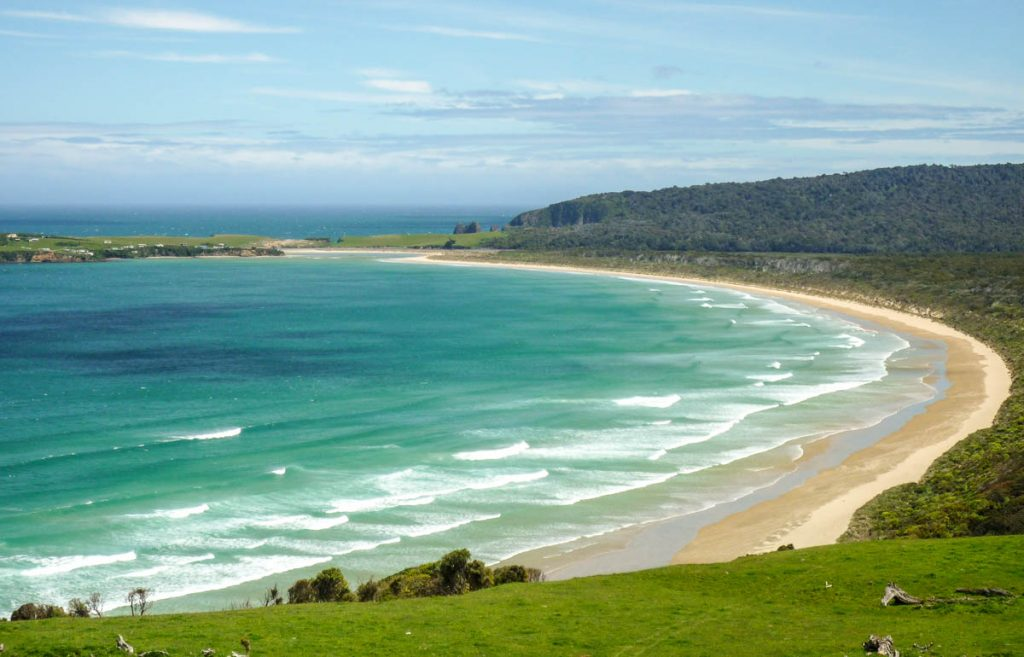 Tautuku Bay,Papatowai, Otago, Nieuw Zeeland (2011)