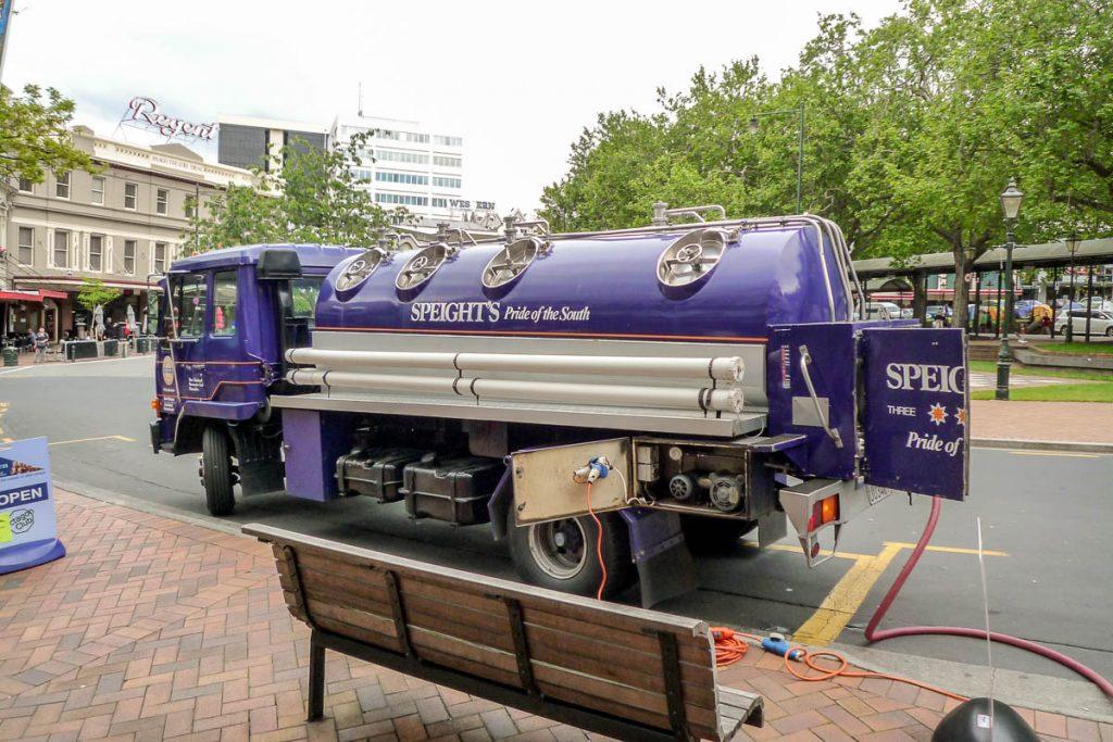 Bierwagen,Dunedin, Otago, Nieuw Zeeland (2011)