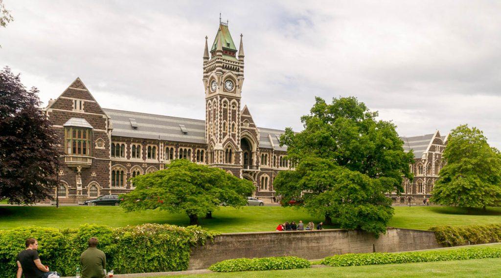 Otago University,Dunedin, Otago, Nieuw Zeeland (2011)