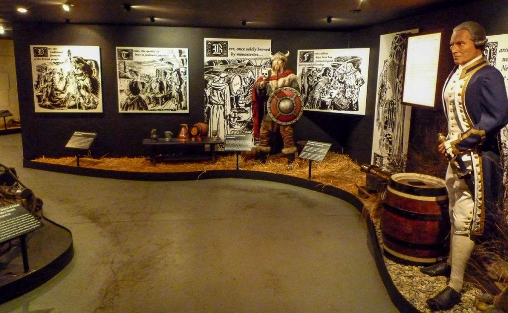 Stukje Speight's geschiedenis,Speight's Brewery, Dunedin, Otago, Nieuw Zeeland (2011)