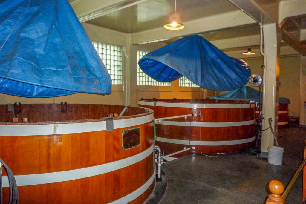 Fermenteren,Speight's Brewery, Dunedin, Otago, Nieuw Zeeland (2011)
