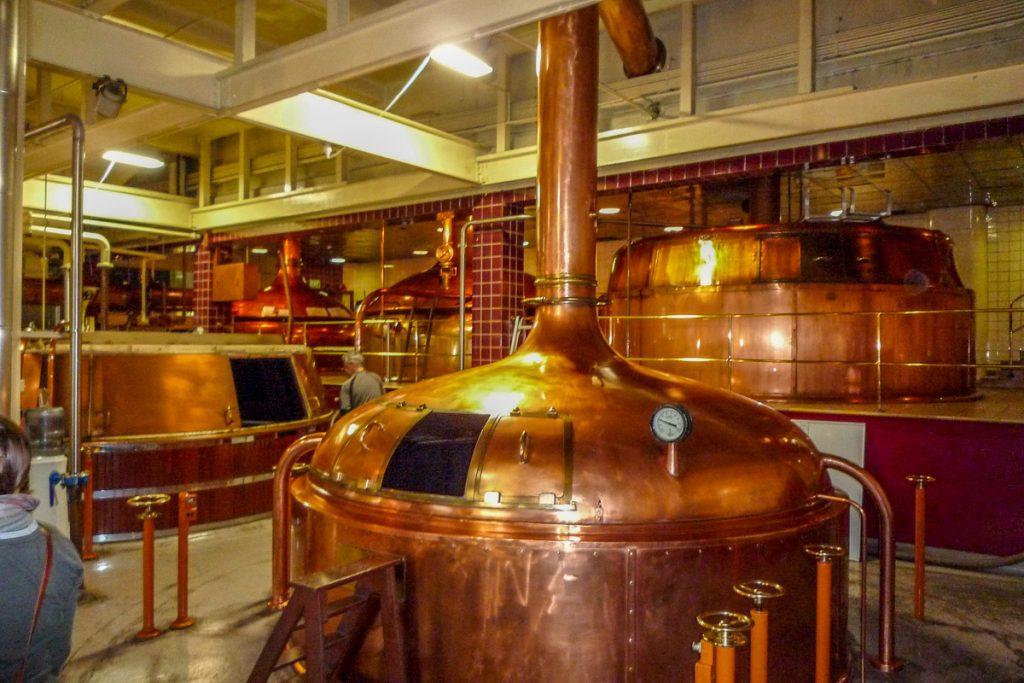 Nog meer ketels,Speight's Brewery, Dunedin, Otago, Nieuw Zeeland (2011)