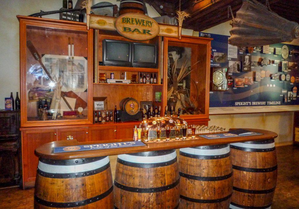 Kleine pub,Speight's Brewery, Dunedin, Otago, Nieuw Zeeland (2011)