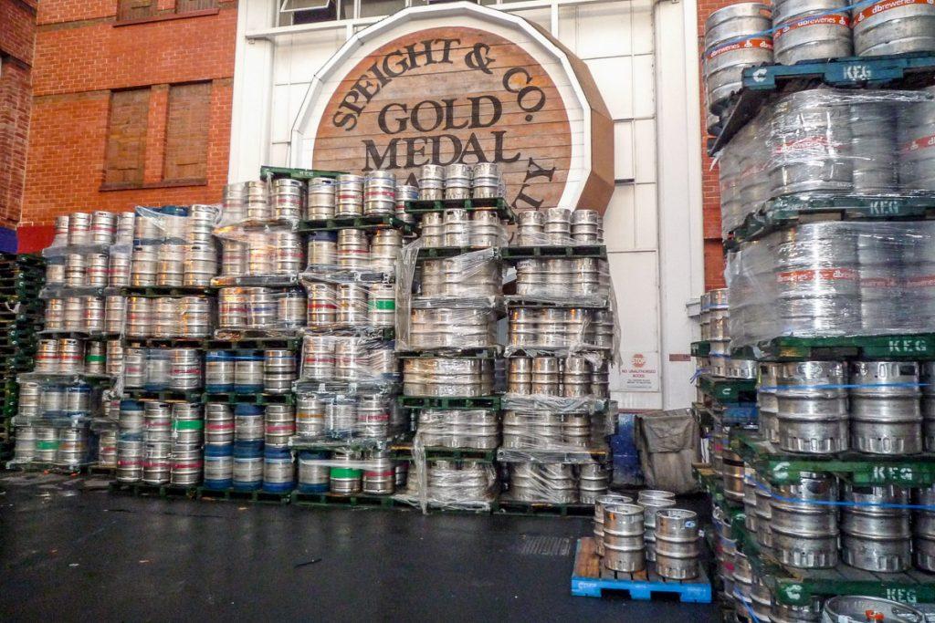 Welke zou naar Hamilton gaan?,Speight's Brewery, Dunedin, Otago, Nieuw Zeeland (2011)