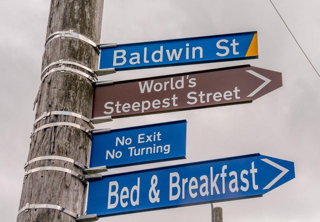 Baldwin Street,Baldwin Street, Dunedin, Otago, Nieuw Zeeland (2011)