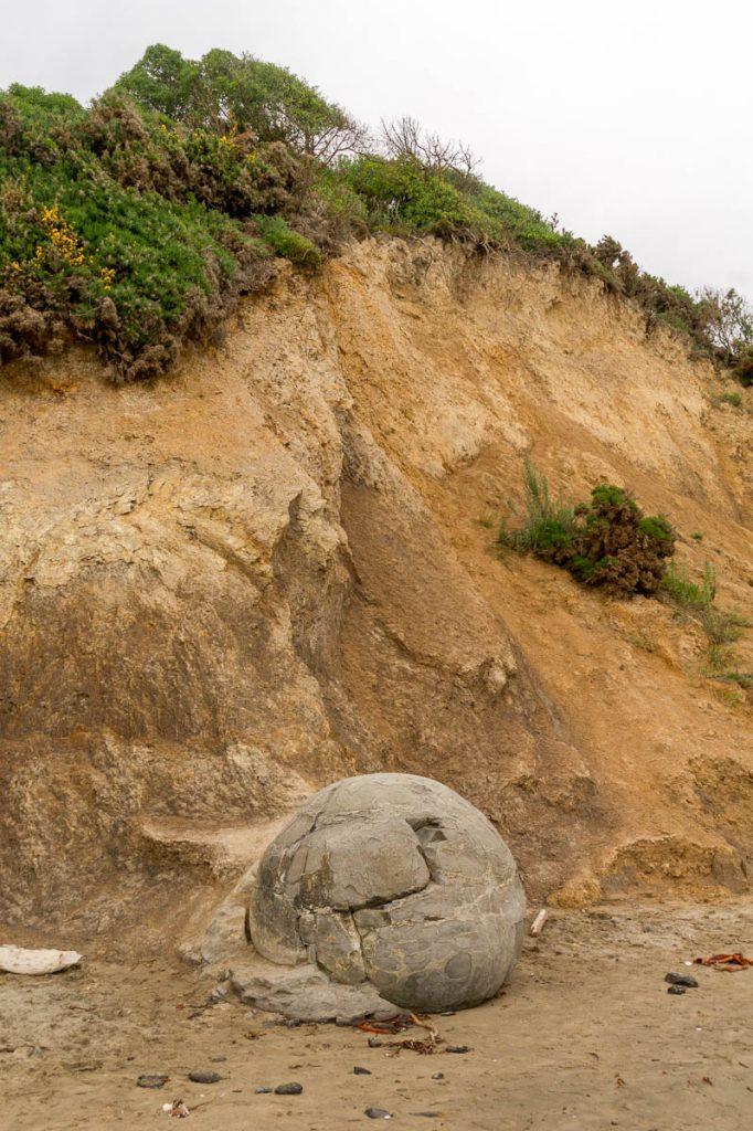 Kei,Moeraki Boulders, Hampden, Otago, Nieuw Zeeland (2011)