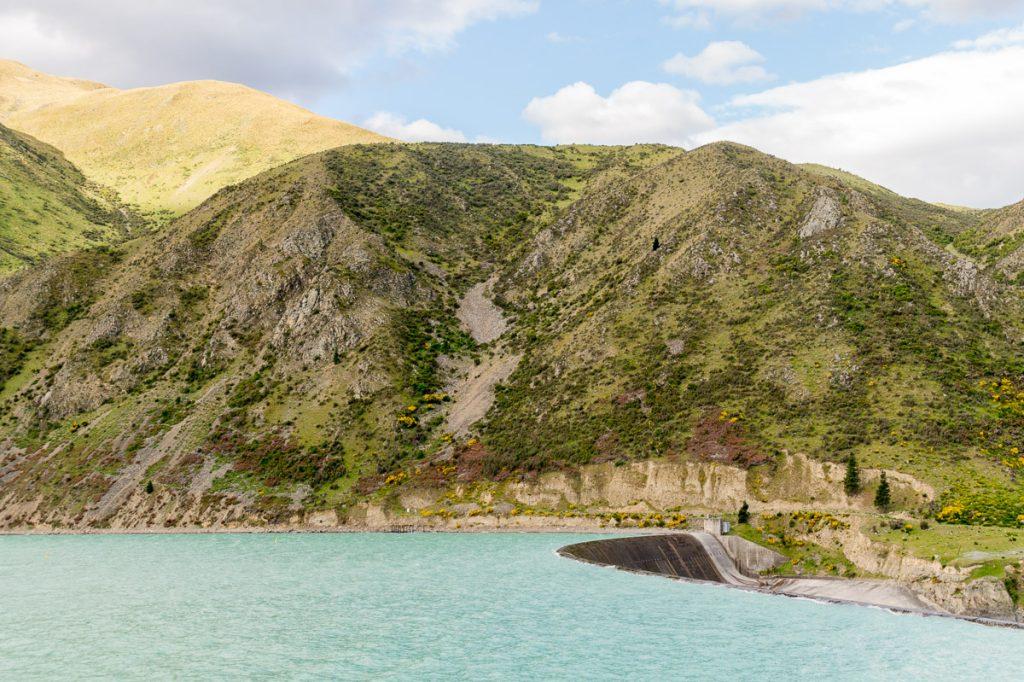 Lake Waitaki,Kurow, Otago, Nieuw Zeeland (2011)