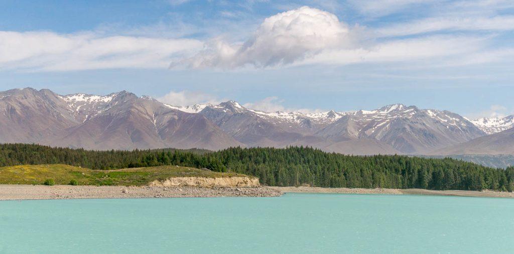 Lake Pukaki,Pukaki, Canterbury, Nieuw Zeeland (2011)