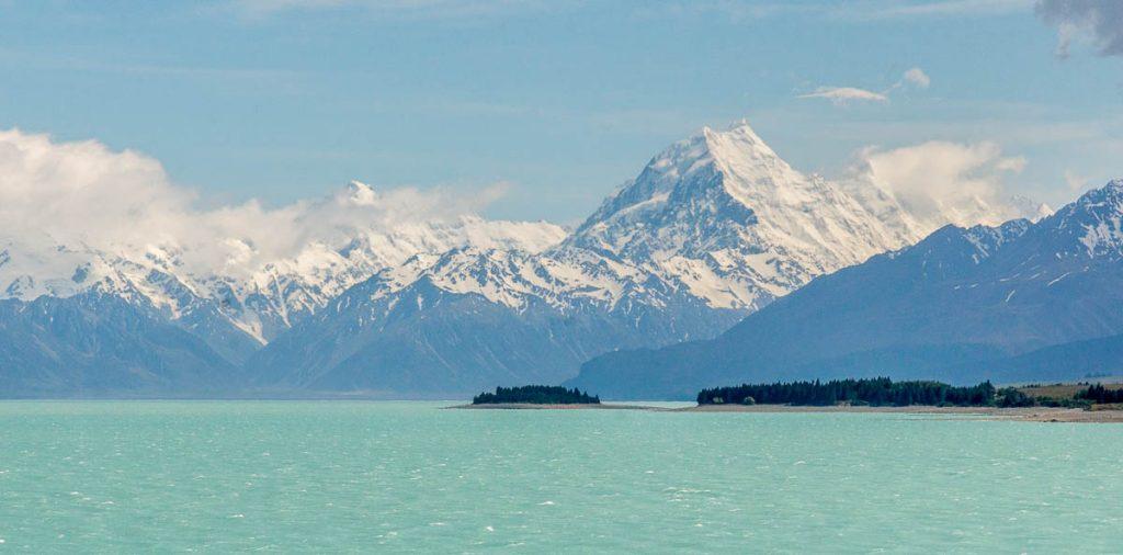 Lake Pukaki & Mount Cook,Pukaki, Canterbury, Nieuw Zeeland (2011)