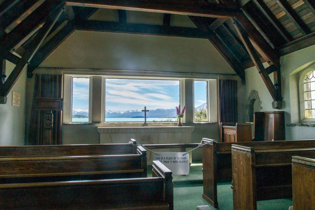 Church of the Good Shepard,Church of the Good Shepard, Lake Tekapo, Canterbury, Nieuw Zeeland (2011)