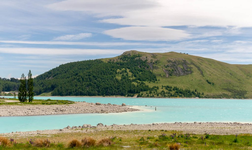 Lake Tekapo,Church of the Good Shepard, Lake Tekapo, Canterbury, Nieuw Zeeland (2011)
