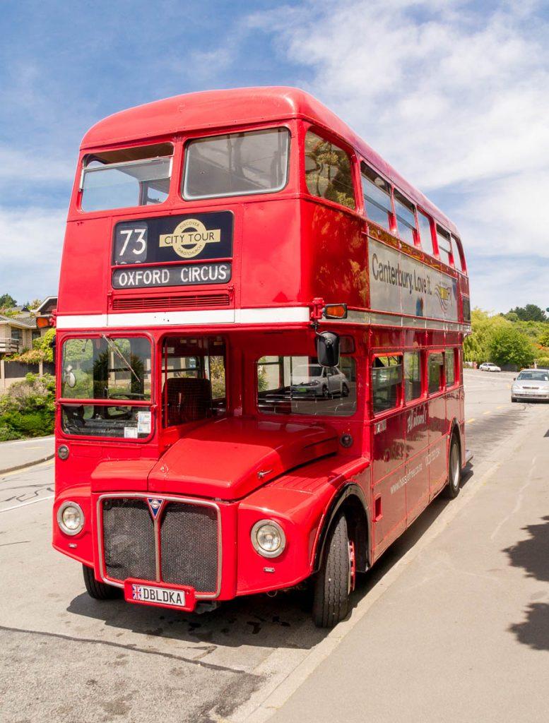 Bus Tour,Christchurch, Canterbury, Nieuw Zeeland (2011)