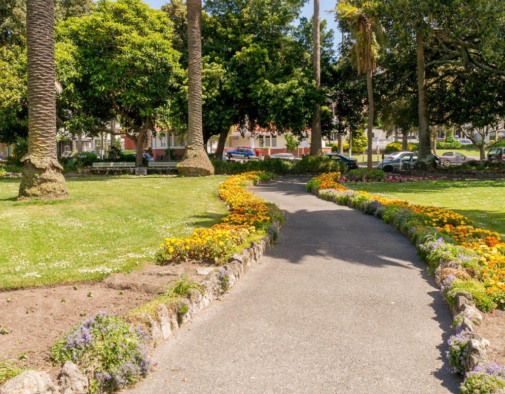 Parkje,Clive Square, Napier, Hawke's Bay, Nieuw Zeeland (2011)