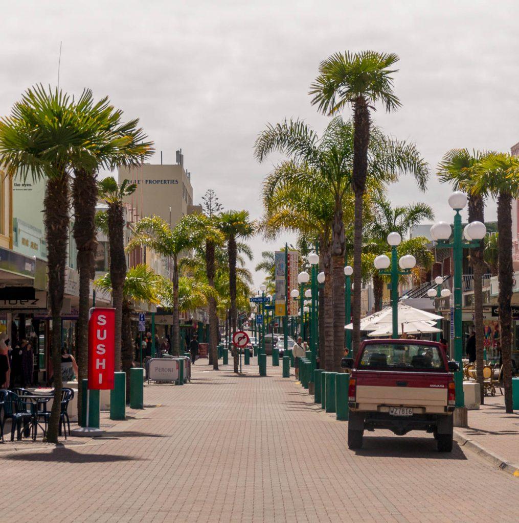Winkelstraat,Emerson Street, Napier, Hawke's Bay, Nieuw Zeeland (2011)