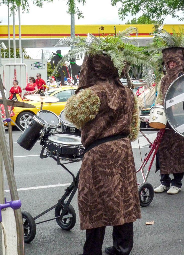 Verkleed als boomvaren,Hamilton, Waikato, Nieuw Zeeland (2011)