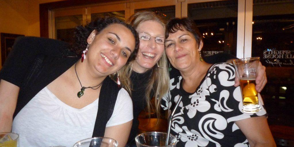 Jenna, Wendy & ik
