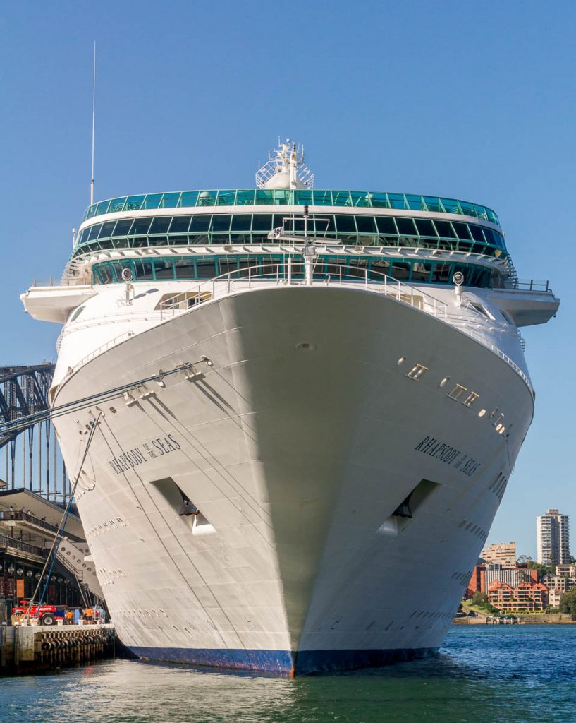 Rhapsody of the Seas,Circular Quay, Sydney, New South Wales, Australië (2012)