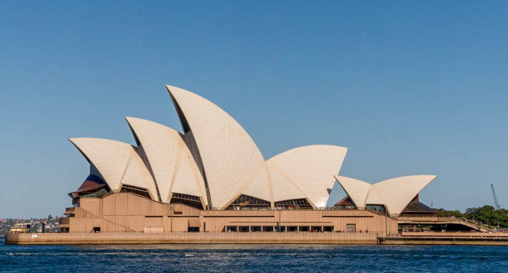 Sydney Opera House,Circular Quay, Sydney, New South Wales, Australië (2012)