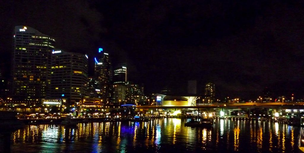 Darling Harbour,Darling Harbour, Sydney, New South Wales, Australië (2012)