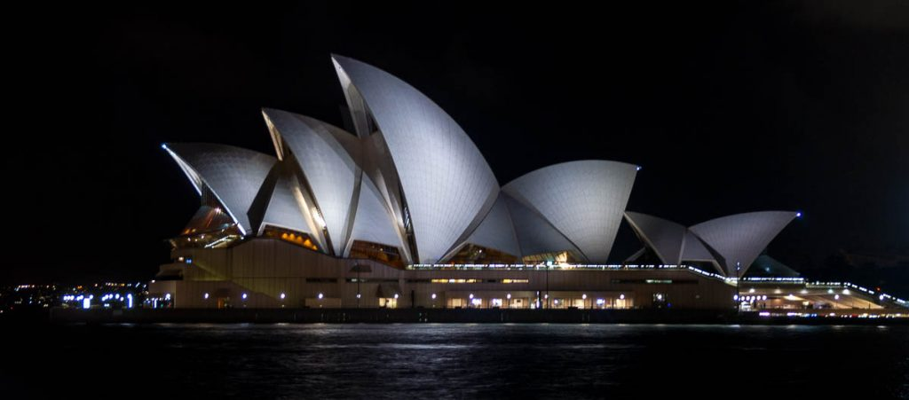 Sydney Opera House,Sydney Harbour, Sydney, New South Wales, Australië (2012)