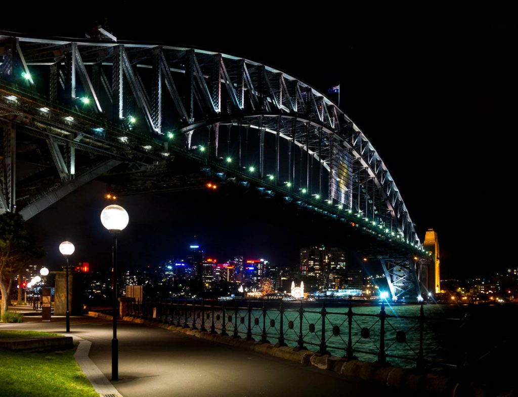 Sydney Harbour Bridge,Sydney Harbour, Sydney, New South Wales, Australië (2012)