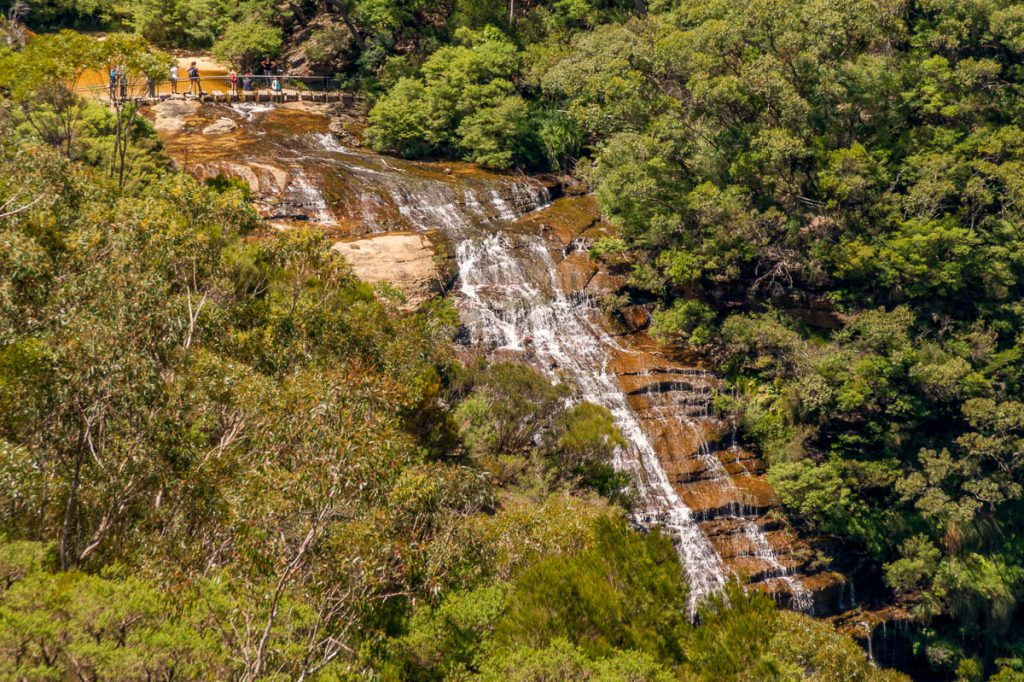 Jamison Creek,Wentworth Falls, New South Wales, Australië (2011)