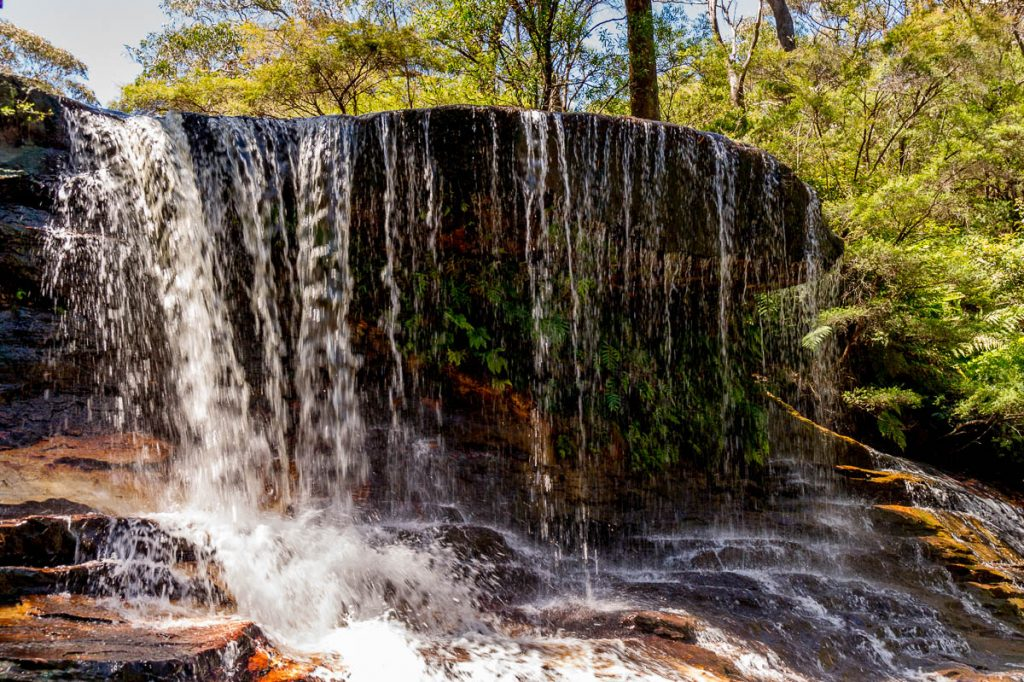 Weeping Rock,Wentworth Falls, New South Wales, Australië (2011)