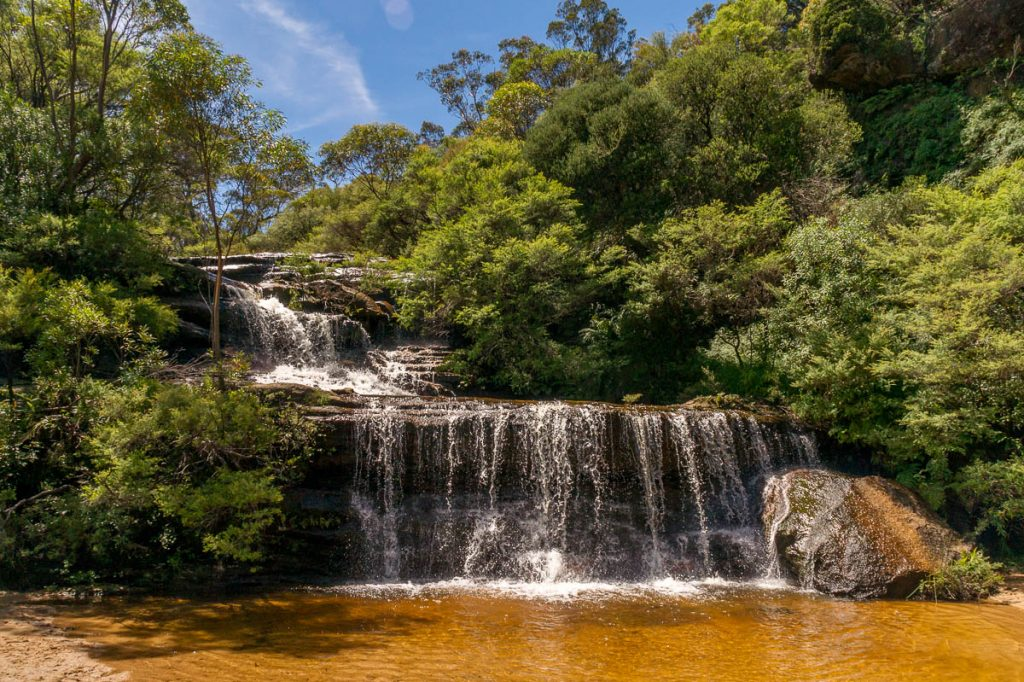 Queen's Cascade,Wentworth Falls, New South Wales, Australië (2011)