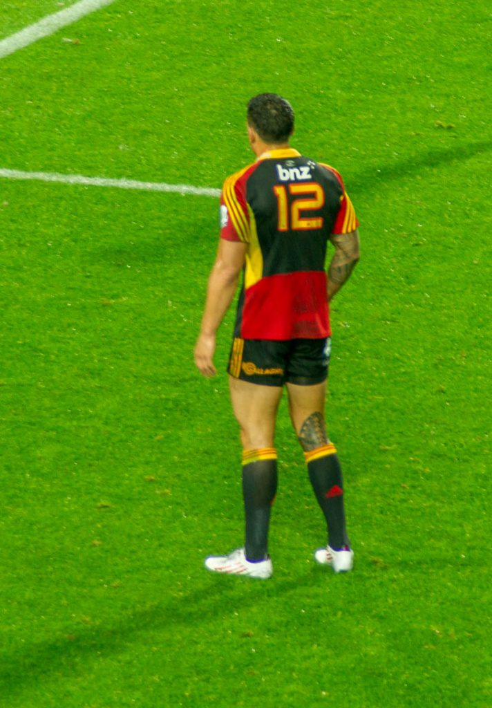 Sonny Bill Williams,Waikato Stadium, Hamilton, Waikato, Nieuw Zeeland (2012)