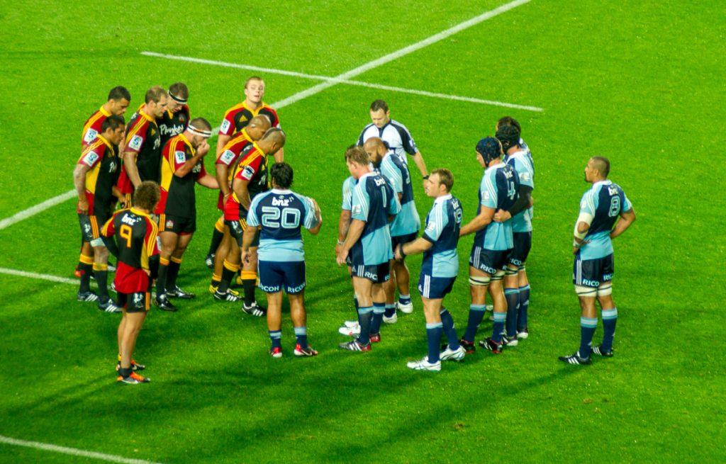 Chief's tegen de Blues,Waikato Stadium, Hamilton, Waikato, Nieuw Zeeland (2012)